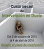 Curso on-line de Intervención en Duelo