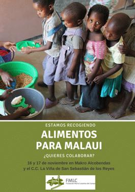 Nueva recogida de «Alimentos para Malaui»