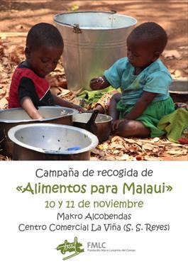 ¿Nos ayudas a recoger #AlimentosParaMalaui?