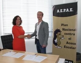 Acuerdo con AEPAE para prevenir el acoso escolar