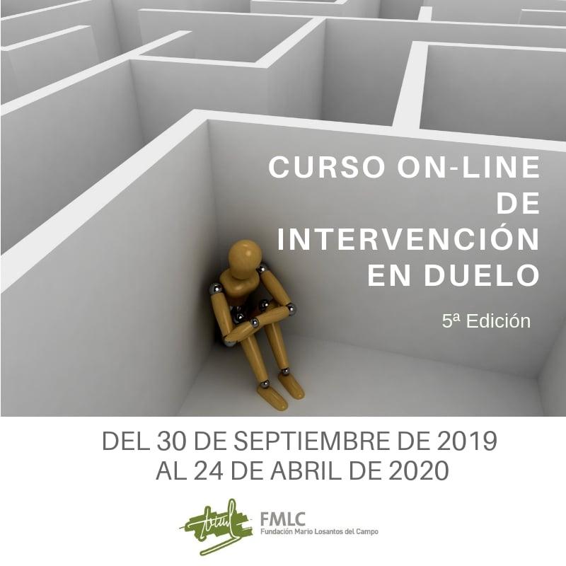 5º Curso on-line de Intervención en Duelo