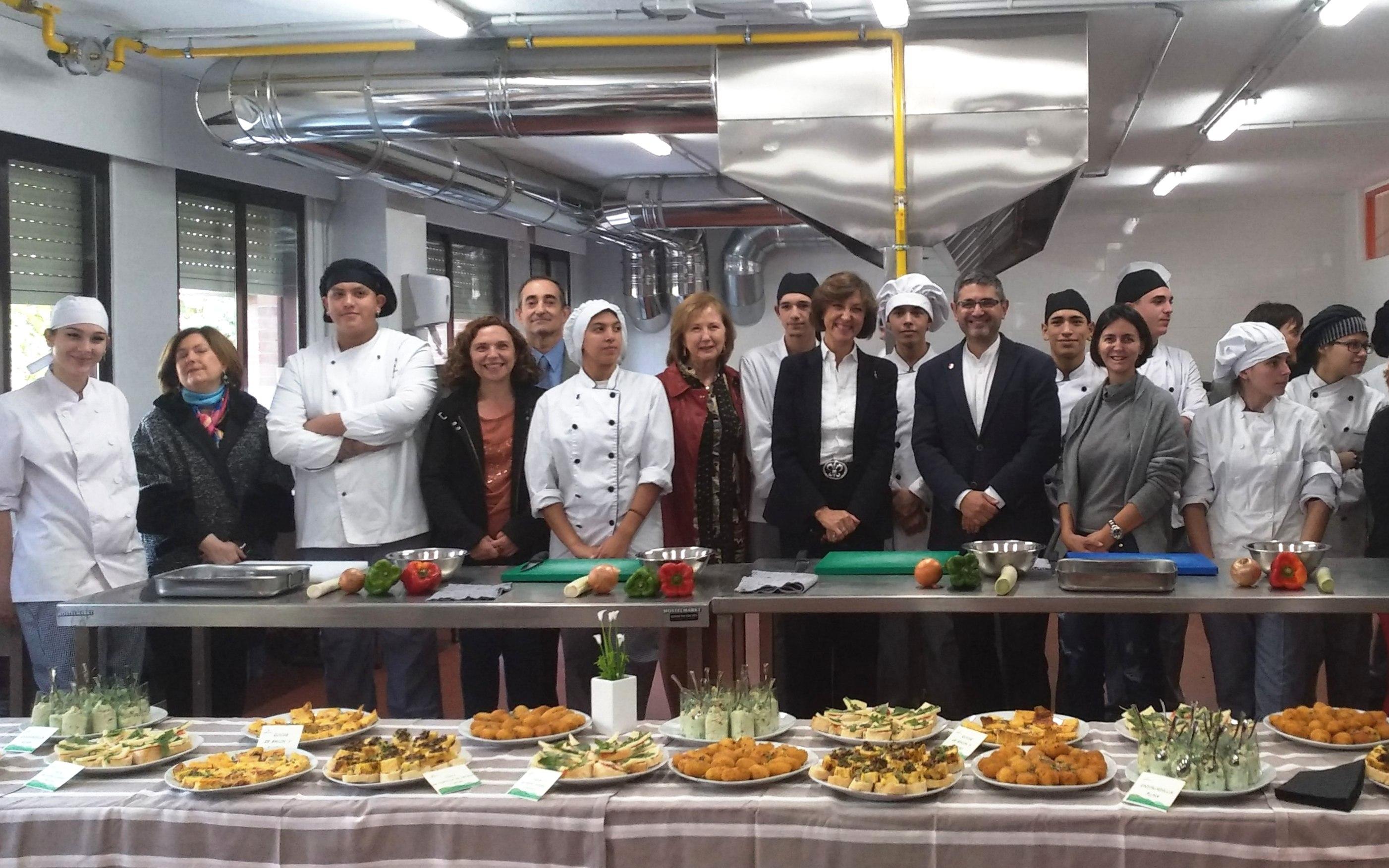 Nuevo taller de hostelería en Alcobendas