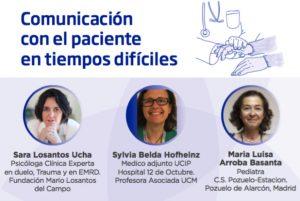 Webinar sobre «Comunicación con el paciente en tiempos difíciles»