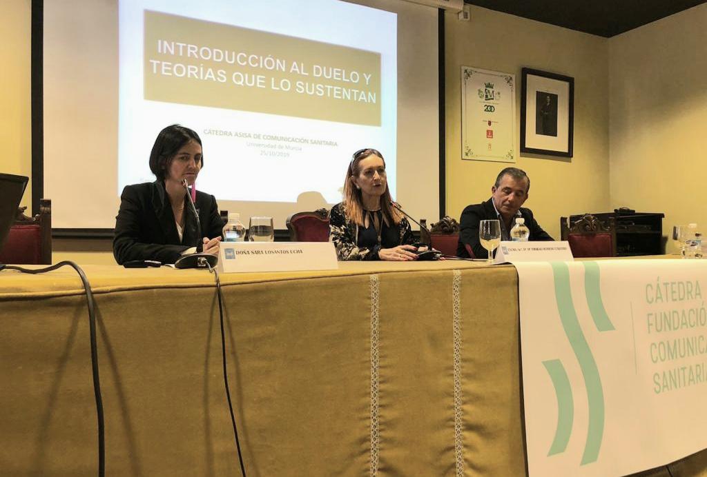 Ponencia de Sara Losantos en el Curso de Comunicación Sanitaria de la UM