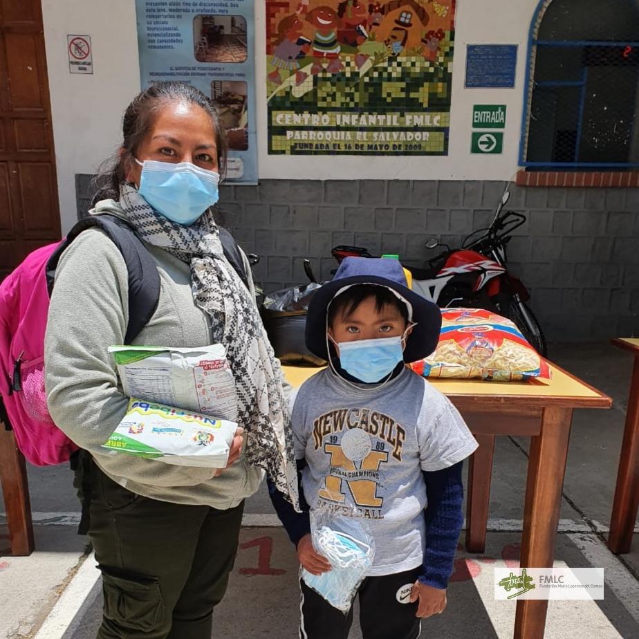 Apoyamos a las familias de El Tejar frente al Covid-19