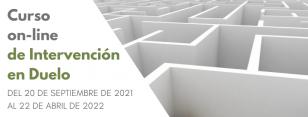 Banner mailing Curso on-line de Intervención en Duelo