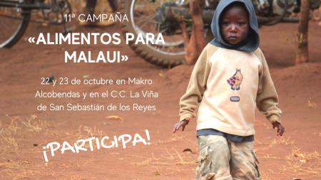 Participa en la 11ª campaña «Alimentos para Malaui»